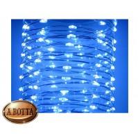 100 LED Luci di Natale da ESTERNO Controller 8 Giochi a Batteria - Luce FREDDA