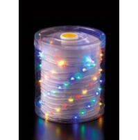 100 Luci LED di Natale da ESTERNO a BATTERIA con timer 8 Giochi Luce MULTICOLOR