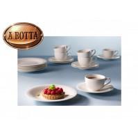 18 Pezzi  6 Tazze Caffè con + 6 Piatti Frutta  VILLEROY & BOCH New Cottage Basic