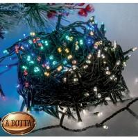 180 LED Luci Natale ESTERNO Luce BICOLOR Calda e Multicolor Controller 8 Giochi