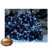 180 Luci Pazze di Natale da ESTERNO a LED Controller 8 Giochi - Luce FREDDA