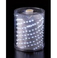 200 Luci LED di Natale da ESTERNO a batteria con timer 8 Giochi - Luce FREDDA
