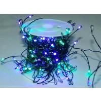 240 LED Luci Natale da ESTERNO con Bobina Luce MULTICOLOR 8 Combinazioni