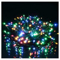 300 LED Luci Natale ESTERNO Luce BICOLOR Calda e Multicolor Controller 8 Giochi