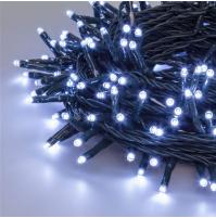 480 Luci di Natale a LED da ESTERNO a LUCE FREDDA - Cascata 1 Gioco di Luce