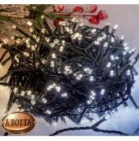560 LED Luci Natale da ESTERNO Luce BICOLOR Calda e Fredda Controller 8 Giochi