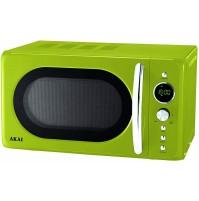 AKAI AKMW203 GREEN Forno a Microonde Vintage 20 Litri VERDE 700 W + Grill 900 W