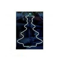 ALBERO di NATALE Neon con 240 Led da Esterno 56x42,5 cm - Luce Fredda Natale