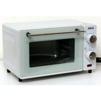 Akai AKFE120SN Vintage Forno Fornetto Elettrico 12 Litri 650 Watt Bianco Timer