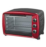 Akai AKFE320S Vintage Forno Fornetto Elettrico 32 Litri 1500 Watt Rosso e Nero