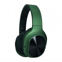 Akai BTH10 Cuffia Stereo Bluetooth Wireless Ricaricabile Verde con Microfono
