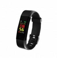 Akai K-FIT 60 Orologio Smartwatch Fitness Monitoraggio Battito Cardiaco Nero
