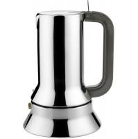 Alessi 9090/1 Caffettiera Moka Caffé Espresso 1 Tazza Design Acciaio Inox 18/10