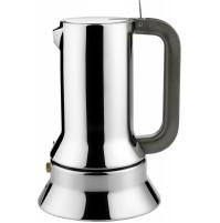 Alessi 9090/3 Caffettiera Moka Caffé Espresso 3 Tazze Design Acciaio Inox 18/10