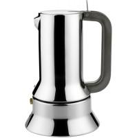 Alessi 9090/6 Caffettiera Moka Caffé Espresso 6 Tazze Design Acciaio Inox 18/10