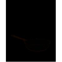 Alessi AJM114/28B Pots&Pans Padella alta a manico lungo in alluminio Ø28 cm