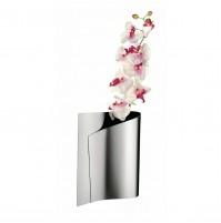 Alessi E-LI-LI FM02 Vaso Ornamentale per Fiori in Acciaio Inox 18/10 da 30 cm