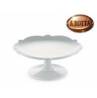 Alzata per Dolci in Porcellana Bianco ALESSI Dressed for X-Mas MW50 - Natale