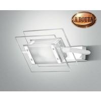 Applique 360° Trecentosessanta gradi 120 I TRE LEUCOS Bianco Parete Soffitto