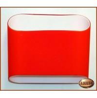 Applique Aureliano Toso ABBEY 2x75 Watt G9 Arancione - Lampada da Parete -