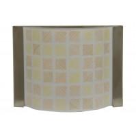 Applique Aureliano Toso DECO' small 1x75 Watt G9 Ambra Lampada da Parete