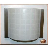 Applique Aureliano Toso DECO' small 1x75 Watt G9 Bianco - Lampada da Parete -