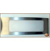 Applique Aureliano Toso DOUBLE 2x60 Watt E14  - Lampada da Parete -
