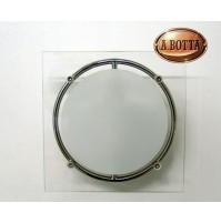 Applique Aureliano Toso MEY 1x75 Watt G9 Bianco - Lampada da Parete 15 cm -