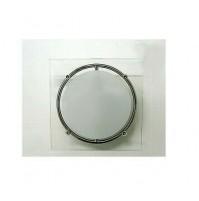 Applique Aureliano Toso MEY 1x75 Watt G9 Bianco Lampada da Parete 15 cm