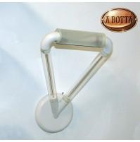 Applique Aureliano Toso OXY 1x150 Watt R7S Bianco - Lampada da Parete -