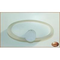 Applique Aureliano Toso SOHO 1x150 Watt R7S Bianco - Lampada da Parete -