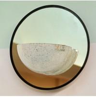 Applique Barovier&Toso Narciso Con specchio Ø30cm 1xE27 - 60 Watt - Da parete