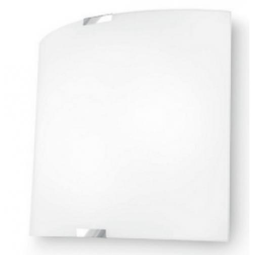 Applique Plafoniera Linea Light Bilancia 5094 per INTERNO 2xE27 57w - 45 x 45