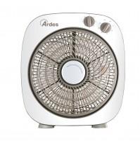 Ardes 5B24 Floor 26 Ventilatore box con 6 Pale da 26 cm Oscillante 45 Watt