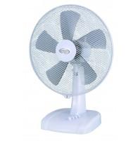 Argo Ginger Ventilatore da Tavolo Oscillante 5 Pale da 40 cm e Timer Spegnimento