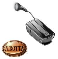 Auricolare Bluetooth CELLULARLINE Roller Clip Headset Classic Nero Riavvolgibile