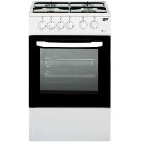 Beko CSS42014FW Cucina a Gas Fornello con 4 Fuochi Forno Elettrico Bianco NUOVO