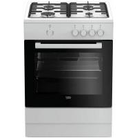 Beko FSG62000DW Cucina Fornello a Gas 60 cm Bianco con Forno a Gas Classe A
