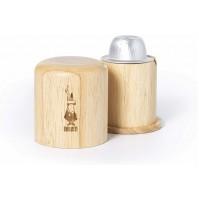 Bialetti 0004220 Apri Capsule di Caffé in Legno Separa Ricicla Alluminio NUOVO