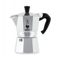 Bialetti Moka Express 0001162 Caffettiera Moka 3 Tazze Caffè Espresso Originale