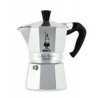 Bialetti Moka Express 0001168 Caffettiera Moka 2 Tazze Caffè Espresso Originale