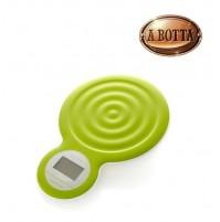 Bilancia Digitale Bubble da Cucina Pesa BRANDANI 55453 Verde in Plastica ABS
