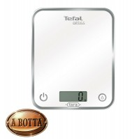 Bilancia Pesa da Cucina Elettronica Digitale Tefal BC5000 Optiss Glass 5 Kg