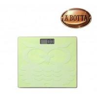 Bilancia Pesapersone Digitale Gufo Brandani 54958 Colore Verde Silicone e Vetro