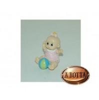 Bomboniera Bimba Bebè Baby con Palla - 118784 Battesimo -