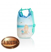 Borsa Mare Waterproof 3,5 Lt Brandani 82612 Enjoy Every Moment - Impermeabile