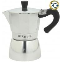 Caffettiera Moka Mirror 6 Tazze in Alluminio TOGNANA Grancucina - Coffee Maker