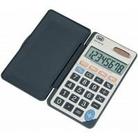 Calcolatrice Elettronica Tascabile Trevi EC 3718 Grigio con Display 8 Cifre