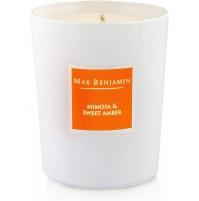 Candela Profumata MAX BENJAMIN Mimosa e Dolce Ambra MB-C15 - 190g Regalo Candle