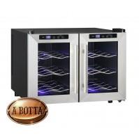 Cantinetta Frigo Bar QLIMA FWK1612 - 12 Bottiglie di Vino Classe D - Wine Cooler